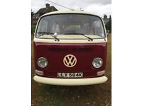 SOLD 1972 Right Hand Drive VW Bay Camper SOLD