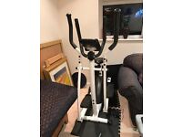 York 120 2 in 1 Cross trainer and bike. Excellent condition. Barely used.