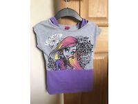Monster High Girls T-Shirt Age 5-6