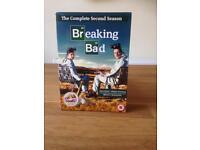 Breaking Bad second season DVD set