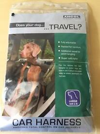 Ancol Large dog size 6-8 car travel harness
