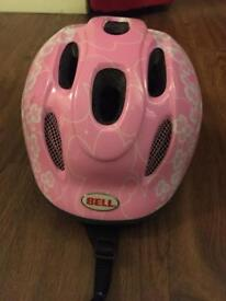 'Bell' Pink child's cycle helmet, size XS/S