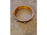 Vintage Premier Royal Ace snare drum restoration project