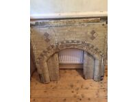 Original period fireplace surround FREE collection only