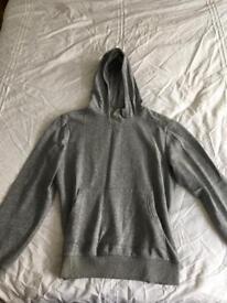 Cedar wood state grey hoodie