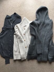 Men's All saints cardigans and jacket size Small