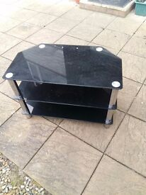 Glass tv stand in very good condition