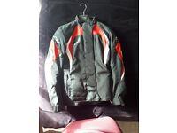Ladies motorcycle clothing, helmet and boots bundle.