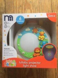 Mothercare musical projector night light