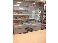 Commercial drinks fridge