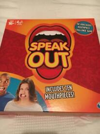 Like new 'Speak out' game unwanted gift