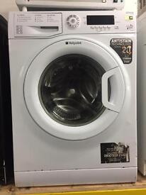 Hotpoint white good looking 9kg 1400spin washing machine