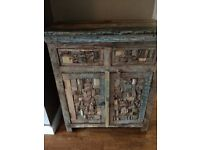 Beautiful heavy solid wood cabinet. Lovely piece of furniture. £100