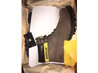 CAT Colorado Brown Boots. Brand new with tags in box. Size 10. £50.