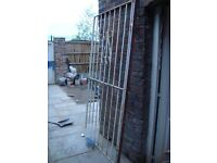 Metal gate (Wide: 1200mm; 120cm or 3.9ft, Height: 1800mm; 180cm or 5.9ft), heavy duty, professional