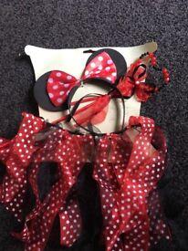 Minnie headband tutu and wand