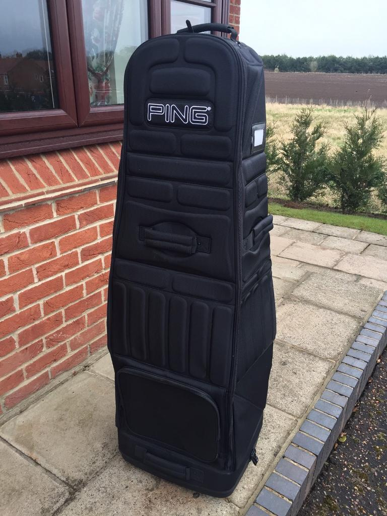PING GOLF TRAVEL BAG - only used once!!   in Drayton, Norfolk ... e1952ba61d