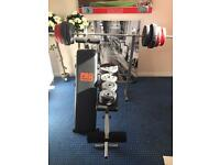 Bench Press Plus Additional Weights £110