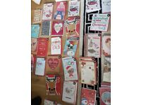 25p each christmas card and other itemd