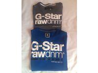 2 G Star Raw T shirts brand new