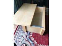 Ikea malm sliding storage box