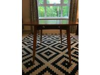 *PRICE REDUCED FOR QUICK SALE* Mid-Century Bespoke Handmade Scandinavia Style Wooden Dining Table