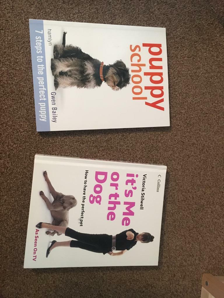 Puppy training books