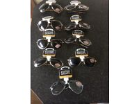 7 Pairs of New mens sunglasses and ready for spring
