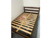 Small Double Wooden Bed Frame
