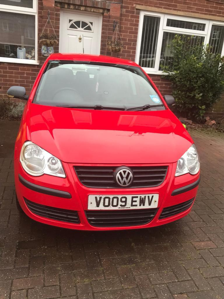 VW POLO 1.2 2009. Red