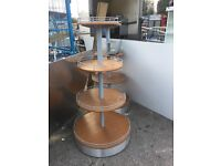 Very Nice Wood, Four Tier Retail Display Stand ** 2 Available **