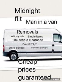 Glasgow / removals /house shop business clearances /man in van / van hire/ uplifts /Glasgow