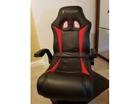 X rocker Rally pedestal gaming Chair