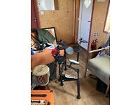 Electric drumkit carlsbro 7 piece