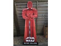 Star Wars lifesize cardboard cut out