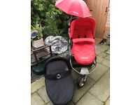 Icandy apple jogger push chair and carrycot