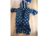Boys 12-18 month snow suit - like new