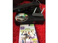 Xbox 360 and Kinect with Kinect Sports