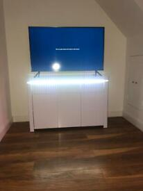 White Atlantic Gloss Large Sideboard