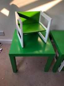 Children table with chairs