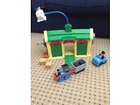 Thomas the Tank Engine Shed and Engines