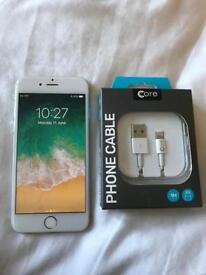 Apple iPhone 6 64gb with charging cable Pristine Mint grade A