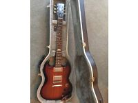 120th Edition Gibson SG with hard case, in perfect condition