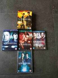 Supernatural dvd seasons 1 to 5