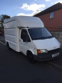 Ford transit 2.5 Luton ideal camper or racing van conversion