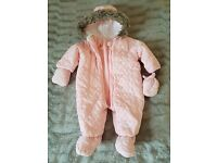 Baby 6-9 month winter suit