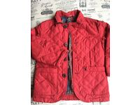 Red 'Joules' jacket 3yr