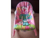 Fisher price infant to toddler rocker bunnies
