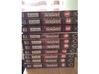 Manga - Berserk Volumes 1 - 10