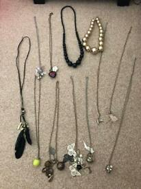 Necklace job lot costume Jewellery